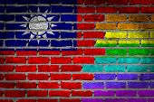 Dark Brick Wall - Lgbt Rights - Taiwan
