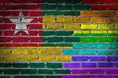 Dark Brick Wall - Lgbt Rights - Togo