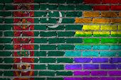 Dark Brick Wall - Lgbt Rights - Turkmenistan