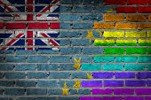 Dark Brick Wall - Lgbt Rights - Tuvalu