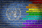 Dark Brick Wall - Lgbt Rights - United Nations