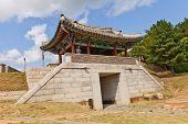 North Gate Bukmun Of Dongnae Castle In Busan, Korea