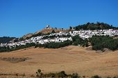 White town, Jimena de la Frontera.