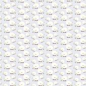 seamless sheep pattern Happy new year 2015 : vector illustration