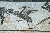 Roman mosaic, Italica, Seville.