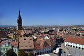 The Old City Of Sibiu, Romania