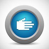 Pixel palm button