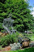 Lawnmower sculpture, Leominster.