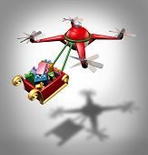 Drone Holiday Delivery