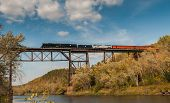 Milwaukee Road #261 - Sandstone Trestle 2014