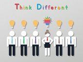 Idea Leadership Business Concept