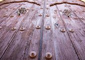Remedios Catholic Church Door