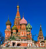 St Basil Cathedral, Moscow, Russia