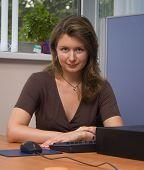 Determined Businesswoman
