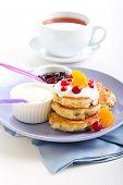 Buttermilk Muesli Pancakes