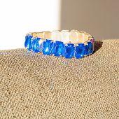 Blue Jewel On The Sun