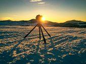 Shooting Mountin Landscape