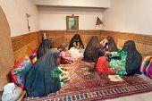 Room With Bedouin Women