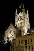 Southwark Cathedral at Night