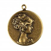 Victorian Vintage Lady Charm