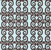 Blue Background with Brown Swirls