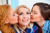 stock photo of  friends forever  - Best friends for life - JPG