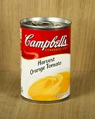 Can Of Campbell's Harvest Orange Tomato Soup