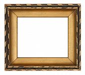 Gold Rectangle Picture Frame