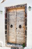 Wooden Door Of The House