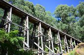Old Trestle Rail Bridge