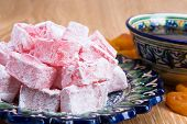 Turkish Delight Or Lukum And Tee