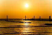 Sunset At The Beach On Koh Larn Pattaya Thailand