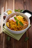 pic of thai cuisine  - Curried Noodle Soup  - JPG