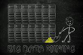picture of gold mine  - big data mining - JPG