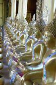 stock photo of buddha  - Buddha statues  of gold buddha Thailand Asia - JPG
