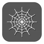 image of spiderwebs  - The spiderweb icon - JPG