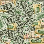 image of barter  - The money dollars for design or decorate project - JPG