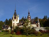 Peles Castle, Carpathian Mountains, Sinaia, Romania