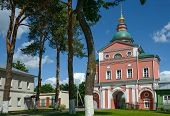 pic of gate  - Northern Holy Gate and Church Over - JPG
