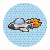 pic of spaceships  - Spaceship Theme Elements - JPG
