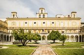 picture of carthusian  - the Carthusian Monastery of San Martino in Naples Italy - JPG