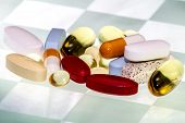 pic of ibuprofen  - A Variety of Pills - JPG
