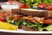 Bacon Lettuce And Tomato Sandwich 001