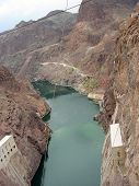 Colorado River Downstream From Hoover Dam