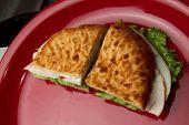 Delicious Turkey Deli Sandwich