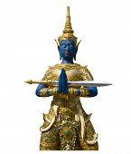 Thai Angel Statue isoliert