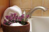 Bath Flowers