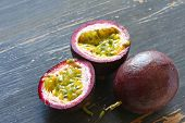 foto of passion fruit  - Passion fruit - JPG