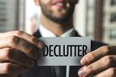 Declutter poster