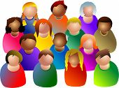 pic of people icon  - people diversity - JPG